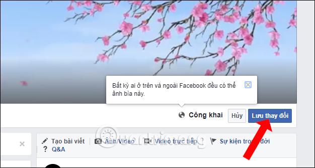 Lưu ảnh bìa video Facebook