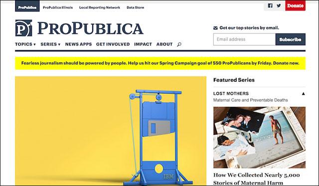 Một nền báo chí không kiểm duyệt trên ProPublica
