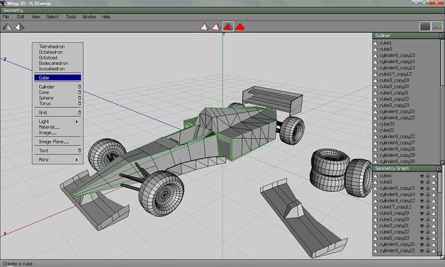 Wing 3D