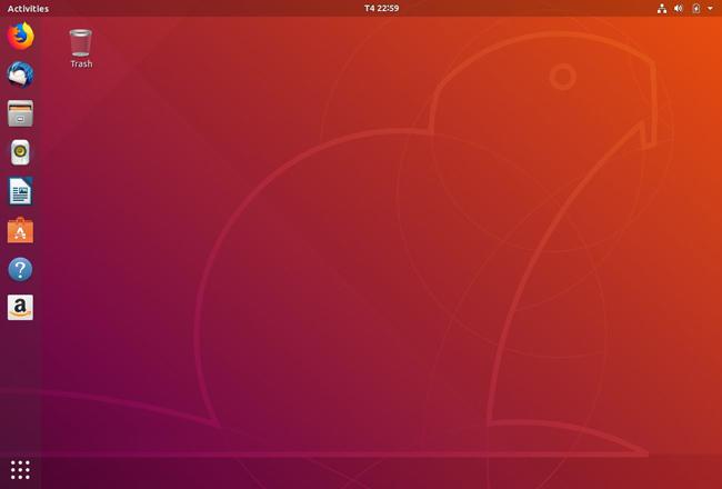 Giao diện Gnome Desktop
