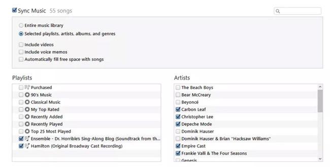 Quản lý nhiều thiết bị với nhiều thư viện iTunes