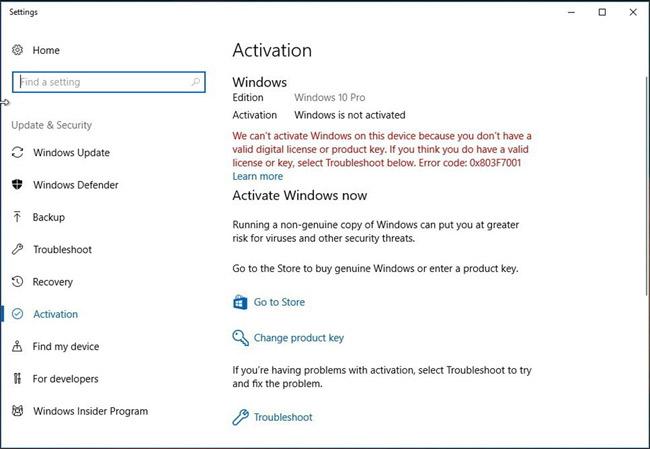 Khắc phục một số lỗi trước và sau khi nâng cấp Windows 10 April 2018