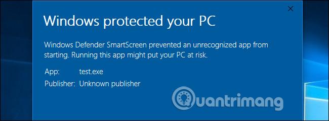 SmartScreen là gì?