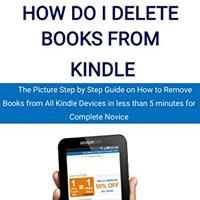Làm thế nào để xóa sách từ Kindle?
