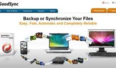 Mời tải miễn phí công cụ sao lưu đồng bộ dữ liệu máy tính GoodSync 10 giá 29,95 USD, đang miễn phí