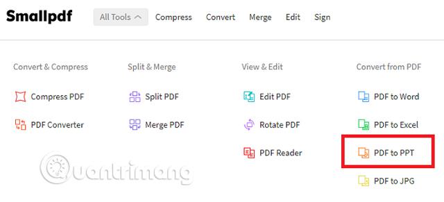 Cách chuyển đổi file PDF sang PowerPoint - Quantrimang com