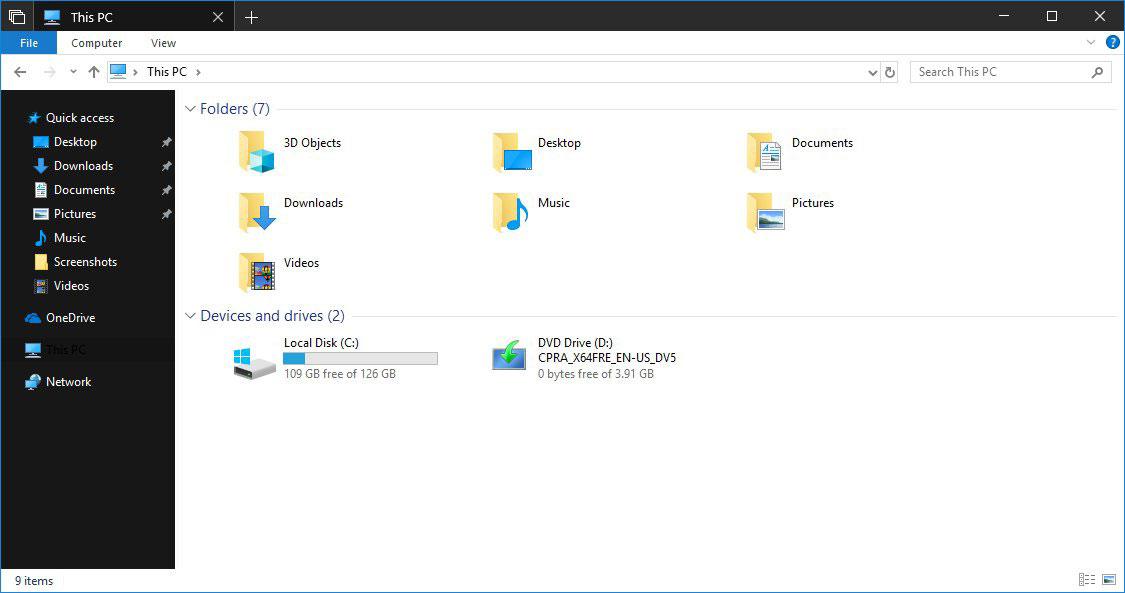 Cách bật Dark Theme cho File Explorer trên Windows 10
