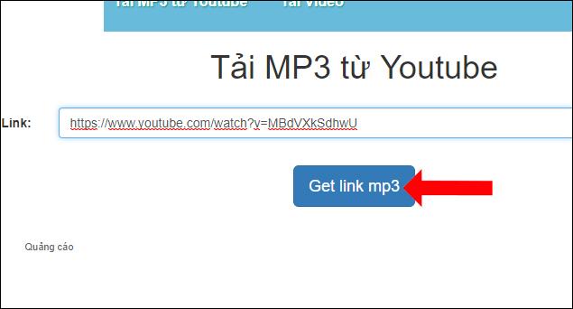 X2convert tải mp3 từ Youtube