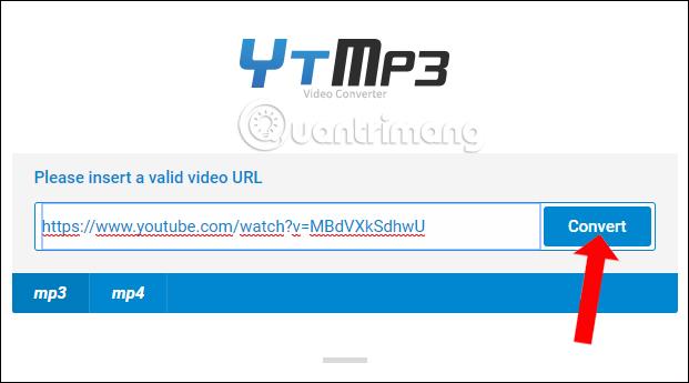 YTMP3 tách nhạc video