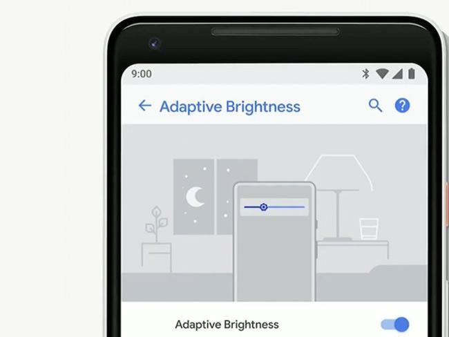 Adaptive Brightness - điều chỉnh độ sáng theo môi trường bên ngoài