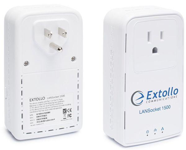 Powerline adapter Extollo LANSocket 1500