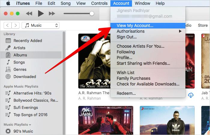 Hủy quyền truy cập Apple Music của các ứng dụng bên thứ ba