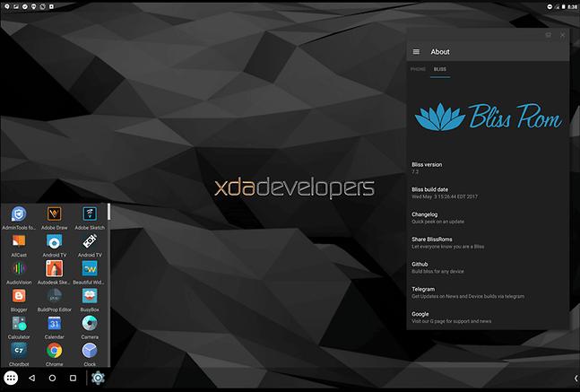 Trải nghiệm Android 8 trên PC với Bliss