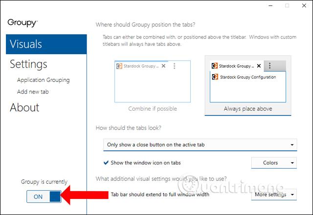 Cách gộp các ứng dụng vào 1 cửa sổ trên Windows