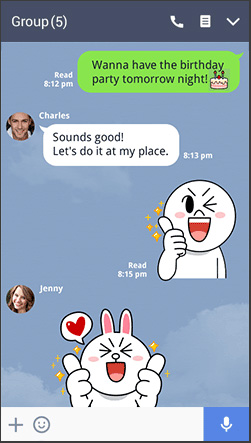 Ứng dụng nhắn tin LINE