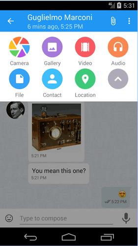 Ứng dụng nhắn tin Kontalk