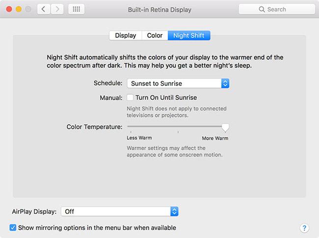 Cập nhật phần mềm cho Mac