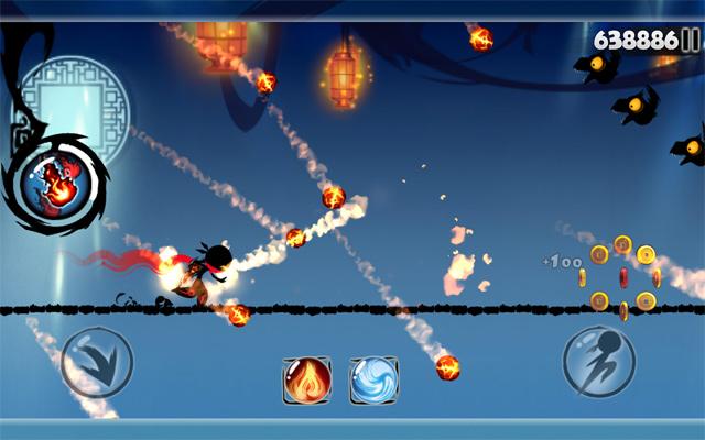 Trò chơi tốc độ Ninja vô hạn