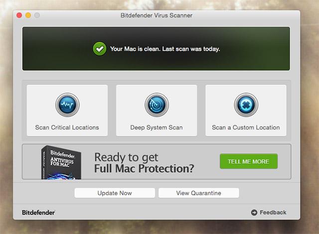 Dùng phần mềm quét malware