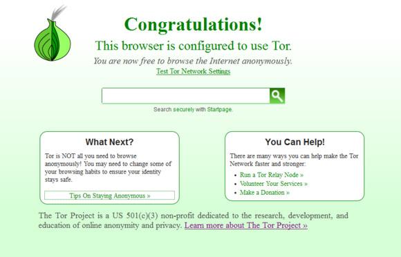 Bắt đầu với Tor