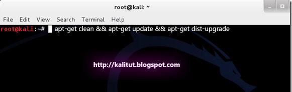 Sửa lỗi khi cập nhật Kali Linux