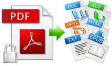 Mời tải PDF Export Kit - công cụ chuyển đổi PDF sang các định dạng khác giá 49 USD, đang miễn phí
