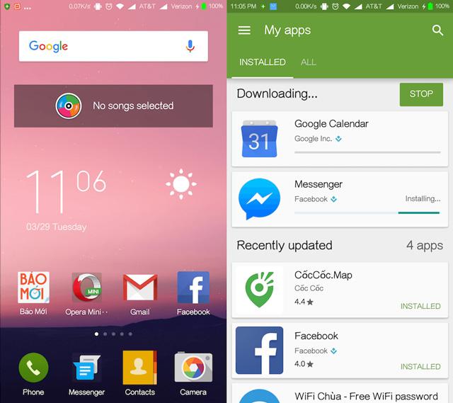 Khôi phục lại ứng dụng trên hệ điều hành Android