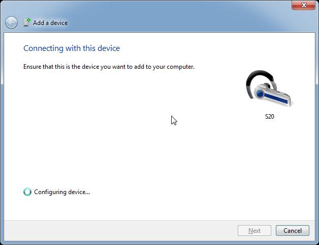 Tiến hành kết nối Bluetooth