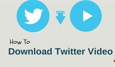 Cách tải video trên Twitter về iPhone