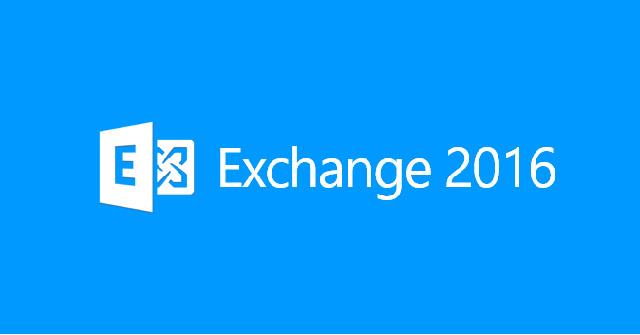 Cách cài đặt Microsoft Exchange Server 2016 trên Windows Server 2016