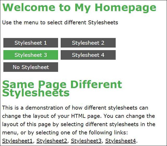 Trang HTML kiểu thứ ba