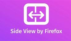 Cách chia đôi cửa sổ Firefox bằng Side View
