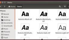 Cách cài đặt và xóa bỏ font chữ trên Linux