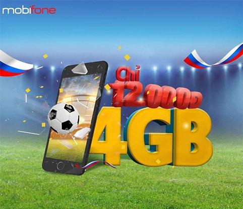 Gói cước xem World Cup của Mobifone
