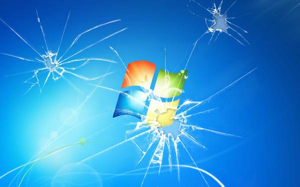 Hình nền màn hình vỡ cực kỳ độc đáo cho laptop 11