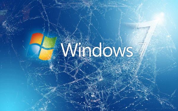 Hình nền màn hình vỡ cực kỳ độc đáo cho laptop 16