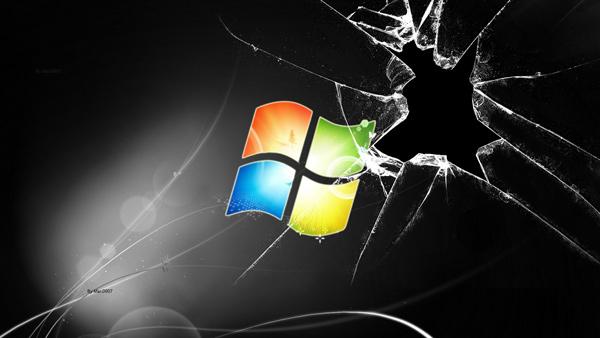 Hình nền màn hình vỡ cực kỳ độc đáo cho laptop 3