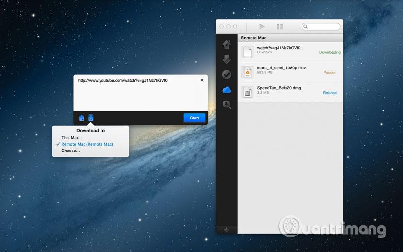 Phần mềm Download Shuttle