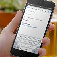 Cách thêm liên kết vào chữ ký email trên iPhone và iPad