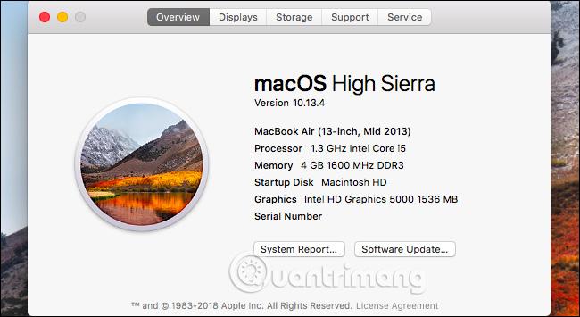 Phiên bản Mac