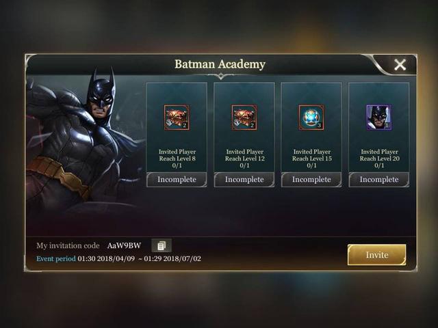Nhận tướng Batman