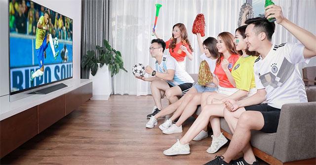 Cách bật chế độ thể thao trên tivi Toshiba