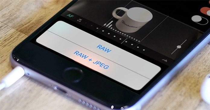 Cách chụp ảnh RAW trên iPhone
