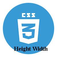 Chiều cao và độ rộng trong CSS