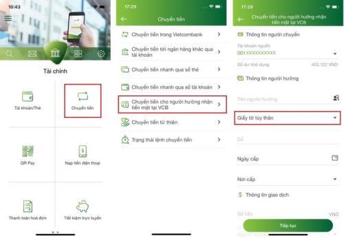 Vietcombank ra mắt một loạt tính năng mới trên ứng dụng Mobile Banking