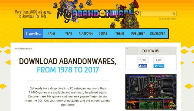 Trang web Good Old Games