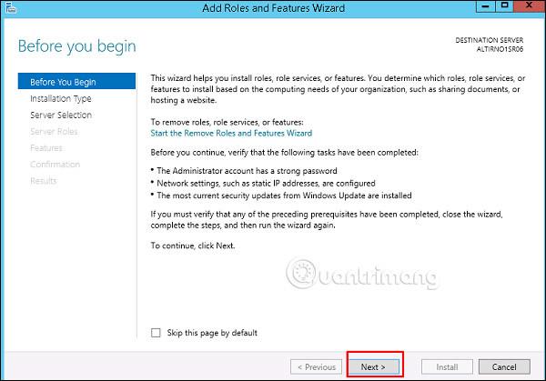 Cách cài đặt Active Directory trong Windows Server 2012
