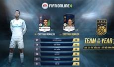 """Cách sở hữu thẻ TOTY với mức giá """"rẻ"""" trong FIFA Online 4"""