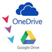 Cách chuyển ảnh từ OneDrive sang Google Drive