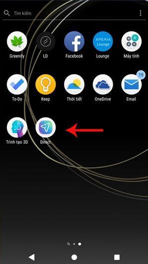 Khởi chạy ứng dụng